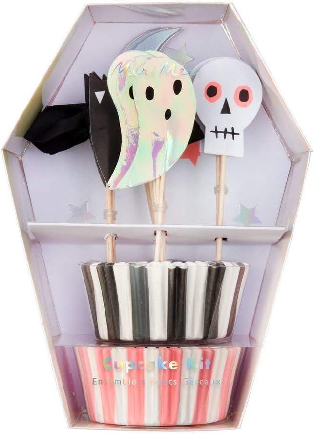 Halloween-Dekoration Partyzubeh/ör Gro/ße Serviette Meri Meri