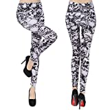 Search : Xelue FF Women Girl Fashion Sexy Punk Gothic Soft Breathable Elastic Stretch Tights Leggings Pants