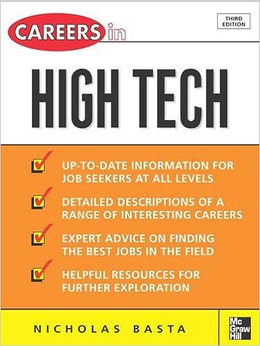 Careers in High Tech (Careers in... Series)