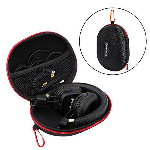 (XCSOURCE Water-Resistant EVA Portable Headphone Case Oval Pouch Foldable Headset Carrying Storage Box for Beats Studio 2.0, Solo 1/2/3 TH736)