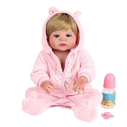 Muñecos Bebé Realista Pretender Juegos de rol Juguetes para niños ...