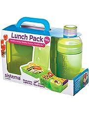 مكعب الغداء ماكس صندوق الغداء من سيستيما، لون أخضر - ارتفاع 25.4 سم × عرض 4.17 سم × عمق 16.81 سم