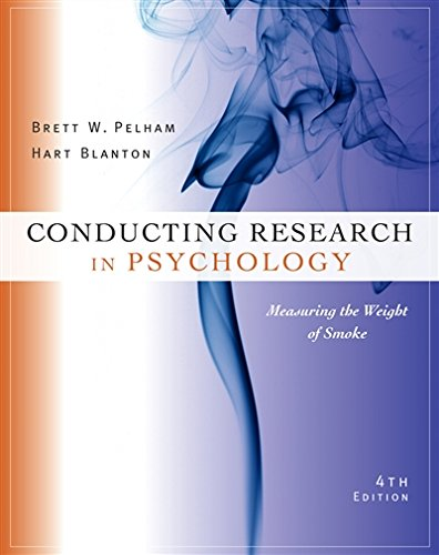 Cengage Advantage Books: Conducting Research in Psychology: Measuring the Weight of Smoke
