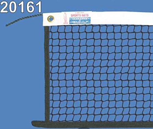 C.N. Paddle/Multi-Sport Net - 21' X 2'6'', 420 Knotless Nylon, 3/4'' mesh, 27'x3/16 Poly rope, 3lbs
