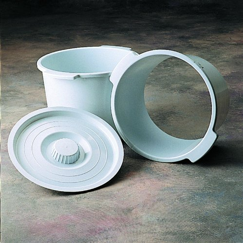 Commode Pail and Lid by Invacare