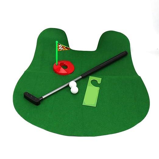 Fliyeong - Juego de palos de golf para inodoro: Amazon.es ...