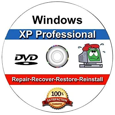 Windows XP Professional OEM Install | Boot | Recovery | Restore CD Disc Disk Perfect for Install or Reinstall of Windows