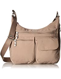 Everywhere Lightweight Crossbody Bag - Multi-Pocketed, Spacious Water-Resistant Travel Purse with