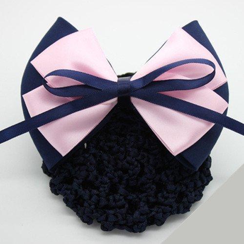 Property etiquette hair ornaments head ornaments aviation black headdress head flower hairpin plate hair net bag beautiful adult for women girl lady