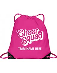 Cheer Squad Custom Team Bag: Port & Company Drawstring Bag