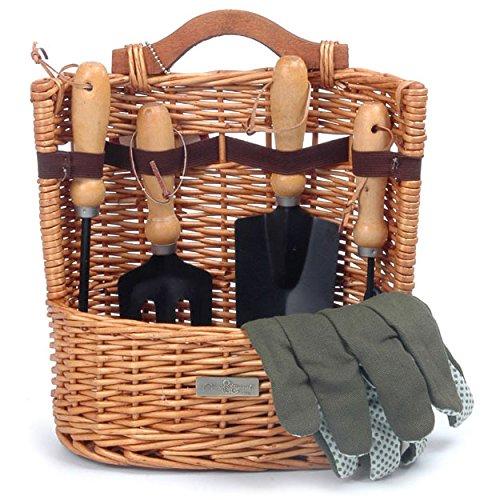 Picnic & Beyond Willow Gardening Basket