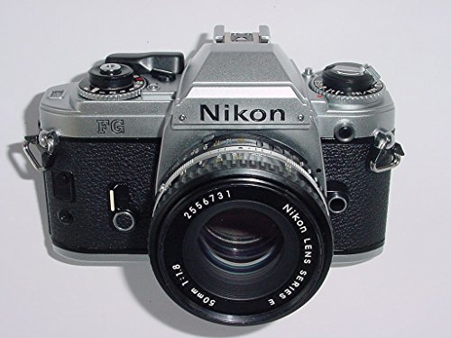 NIkon FG with Nikon 50mm f/1.8 Lens Series (Best Nikon F3 Focusing Screen)