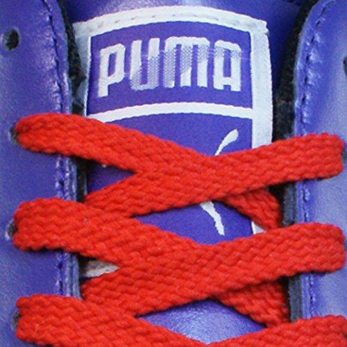 Brilho Da Sapato De Das Puma Sapatilha Couro Flipper Mulheres Violeta Sapatos RAfPwBq