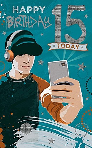 Amazon Age 15th Birthday Have A Great Time Boy 15 Today