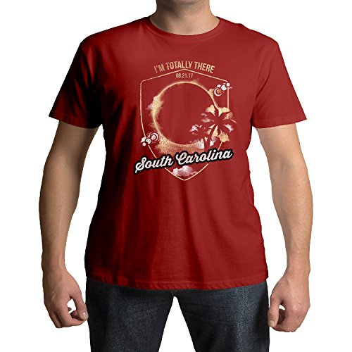 South Carolina I'm Totally There Total Solar Eclipse August 21st 2017 T-Shirt (Bromas De Halloween 2017)