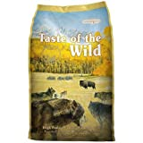 #5: Taste of the Wild Dry Dog Food, Hi Prairie Canine Formula with Roasted Bison & Venison, 30-Pound Bag