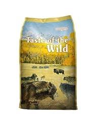Taste of the Wild Dry Dog Food, High Prairie Canine Formula w...