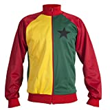 Ghana 1980's National Flag Africa World Cup Jacket Tracksuit Jumper Man Top - Replica