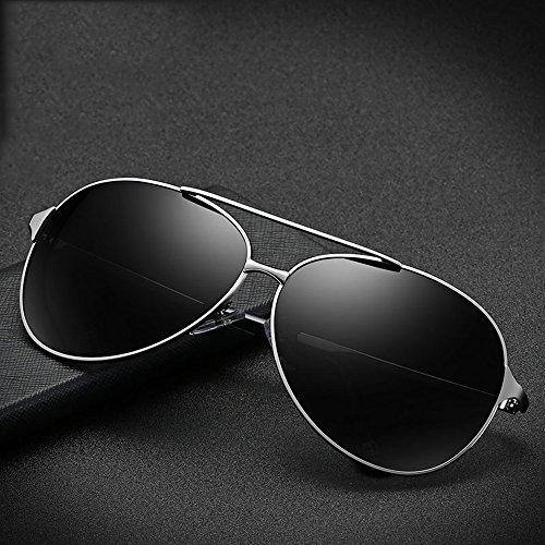 Gafas de 100 polarizadas para sol B A Gafas Aviator UV400 de de SSSX hombre Gafas sol sol de Gafas de Color sol para HD sol conducir Gafas HqWOBzRwW