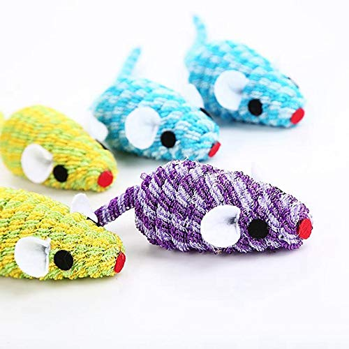 ... Toy Elastic False Mouse Cat Toys Ful Funny Playing Random Gatos - Bundle Plastic String Hanging Control Electric Stick Sale Kong That Inside Filled: ...