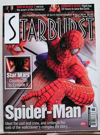 (Starburst The Premier Magazine of Sci-Fi Entertainment Issue #285 The Amazing Spider-man meet the cast and crew AND Countdown to Star Wars episode 2)