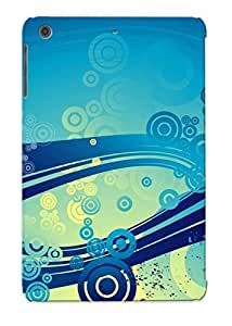 (0b1abf3687)durable Protection Case Cover With Design For Ipad Mini/mini 2(water Color Hummingbird)