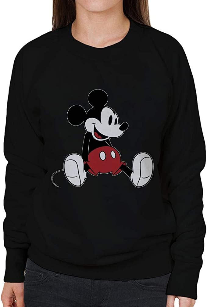 Disney Mickey Mouse Relaxing Women's Sweatshirt: Odzież