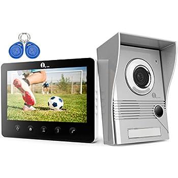 Amazon Jeatone 10 Video Door Intercom Door Phone Recording