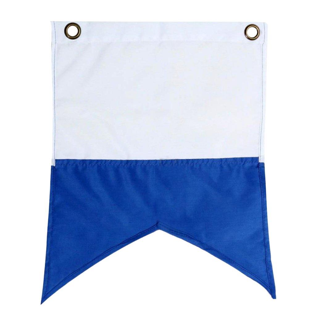 MagiDeal 35x30 cm Scuba Diving Bandiera Di Alaggio Alpha Flag National Banner International Sign