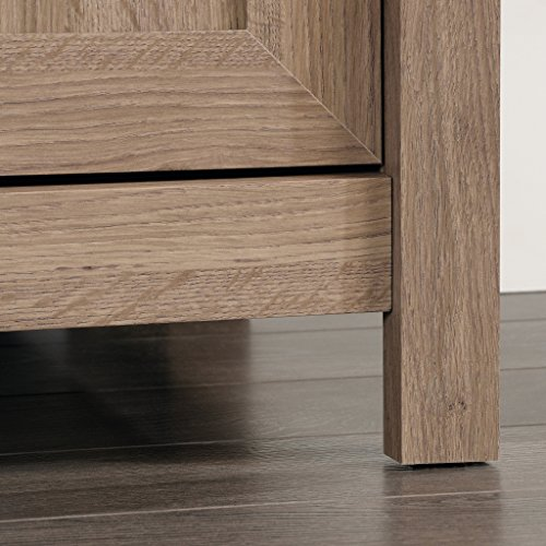 Sauder 417772 County Line Panel TV Stand, Salt Oak by Sauder (Image #5)