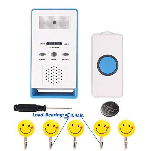 LEAGY Wireless Paging System Remote Call Button Nurse Call System (Nurse Call Alarm)