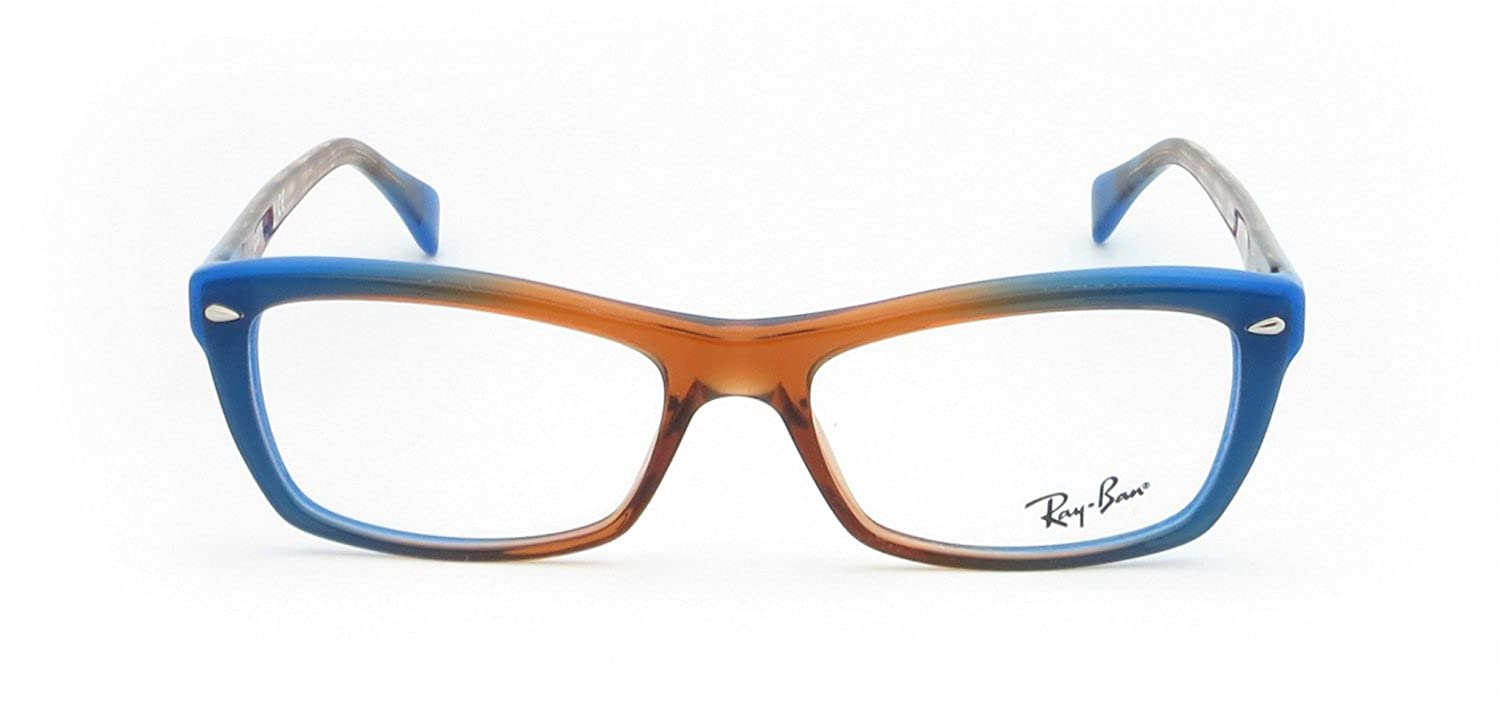 d71d9ddf25 Amazon.com  Ray-ban Rx Eyeglasses Frames Rb 5255 5488 53x16 Gradient Brown  on Blue  Shoes