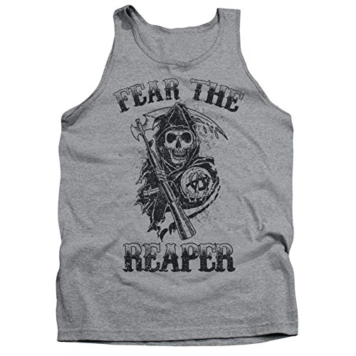 Tank Top: Sons Of Anarchy - Fear The Reaper Size L (Tank Of Anarchy Top Sons)