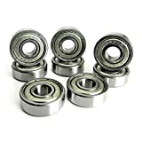 8x22x7mm ABEC 7 Precision Skate Ball Bearings Metal Shields (8)