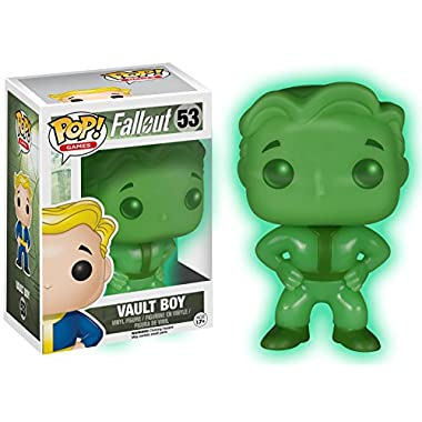 Funko Pop! Games: Fallout Vault Boy #53 Exclusive Glows in the Dark