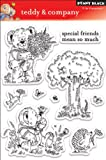Penny Black Clear Stamp Set, Teddy and Company