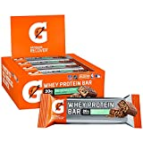 Cheap Gatorade Whey Protein Recover Bars, Mint Chocolate Crunch, 2.8 ounce bars (12 Count)