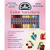 DMC 417XUS13 Color Variations Motif Floss Pack, 12-Pack