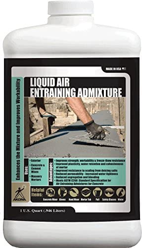Akona液体Air Entraining admixture–QT。 1 Pack 103941