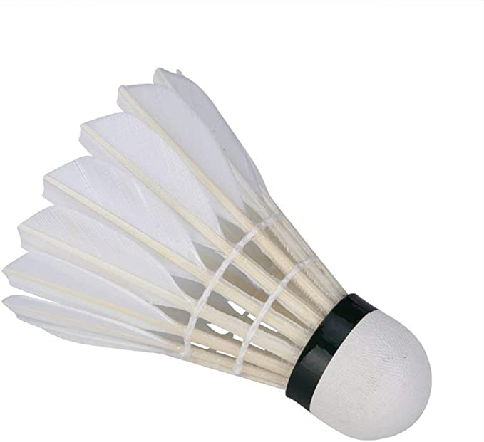 Vektenxi - Pelota de bádminton (3 Unidades), Color Blanco: Amazon ...