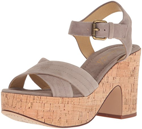 Flaire Damen Wedge Splendid Taupe Sandal 5FR5Mq
