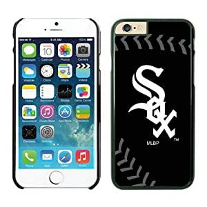 iPhone 6 Cover Case,Chicago White Sox TPU Rubber Phone Case For Apple iPhone 6 4.7 Inch Case 3 Black