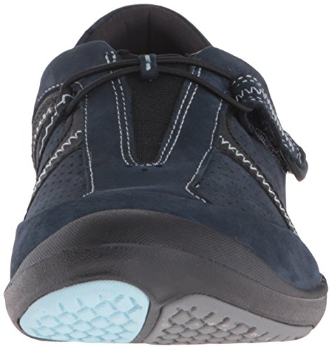 Clarks Vrouwen Asney Slipon Fashion Sneaker Navy Nubuck