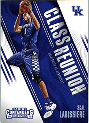 2016-17 Panini Contenders Draft Picks Class Reunion #10 Skal Labissiere Kentucky Wildcats Basketball Card in Protective Screwdown Display Case