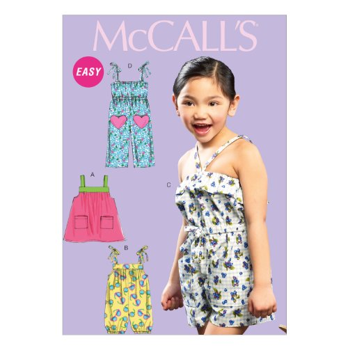McCall Pattern Company Childrens Jumpsuit