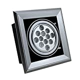 Brightsky 12w Warm White LED Grille Light Spotlight Downlight Square Ceiling Lamp Recessed Bulb Ac 85-265v