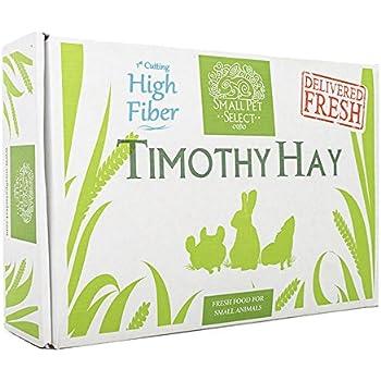 "Small Pet Select 1st Cutting ""High Fiber"" Timothy Hay Pet Food, 10 lb."