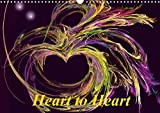 Heart to Heart / UK-Version 2017: Hearts are a Symbol of Love and Affection. A Calendar Full of Poetry and Romance (Calvendo People)
