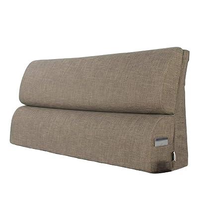 Cuscino testata letto matrimoniale in tessuto/poggiatesta grande ...