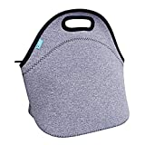 Lunch Tote, OFEILY Lunch boxes Lunch bags with Fine Neoprene Material Waterproof Picnic